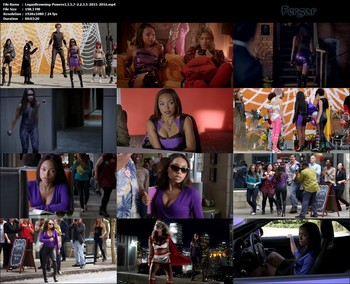 Logan Browning Video HD Minivestido Ajustado De Latex Con Botas Altas