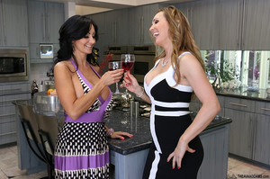 Ava Adams Ava Addams, Kelly Diamond & Tanya