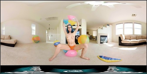 VR360 - Inflatable Beach Ball Bonanza ft. Alex Coal - 4kHQ - 0555  - VRPornPerv - VR360 Virtual Reality Porn  - iwantclips