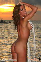 Angela Sommers Sunset at The Beach 25 pics