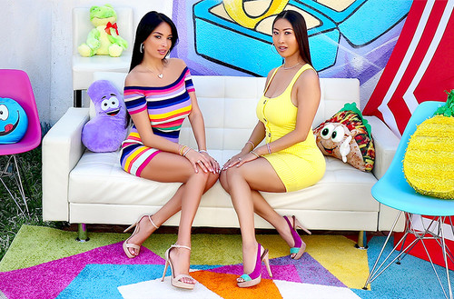 AllAnal - Anissa Kate, Sharon Lee - Tit And Ass Fucking With Anissa And Sharon