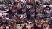 Seven Dommes Throw a Strap-on Gangbang Party -  Aiden Starr, Dana DeArmond, Jay Taylor, Kiki Daire, Maia Davis, Megan Cox, Anna Valentina, Slut Bottom Chris
