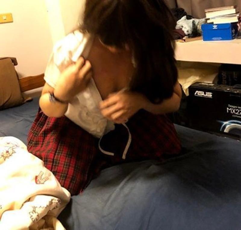 女友的复仇 怒流出渣男啪啪台中新X高中学生妹自拍 爆操制服学生妹 口爆露脸